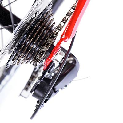 Gear Photograph - Bicycle Rear Gears by Science Photo Library
