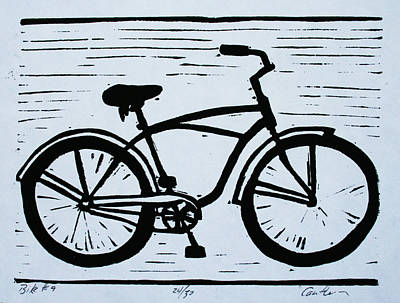 Drawing - Bike 9 by William Cauthern