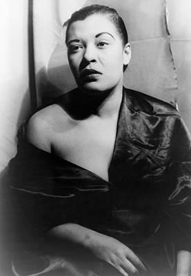 Billie Holiday (1915-1959) Art Print by Granger