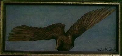 Bir Painting - Bird by Dulce Marcal