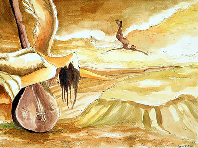 Birth Of A Song Art Print by Ayan  Ghoshal