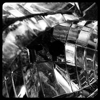 Abstract Wall Art - Photograph - Motorbike Light by Jason Michael Roust