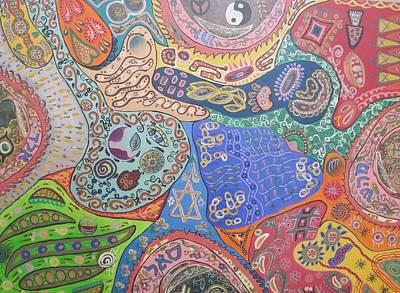 4 Blessings Original by Naomi Sampson