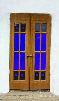 Photograph - Blue Door by Rick Bragan
