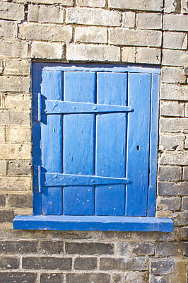 Blue Door  Art Print by Tom Gowanlock