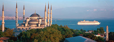 Blue Mosque Istanbul Turkey Art Print by Panoramic Images
