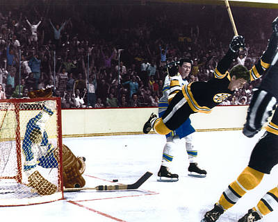 Bobby Orr Art Print by Retro Images Archive