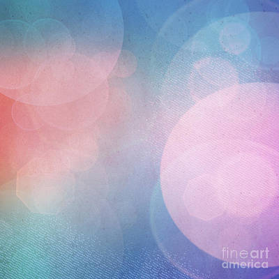 Bokeh Background Art Print