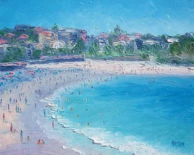 Sydney Vacation Painting - Bondi Beach by Jan Matson