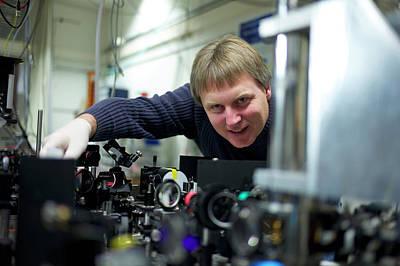 Polymer Photograph - Bose-einstein Condensate by Ibm Research