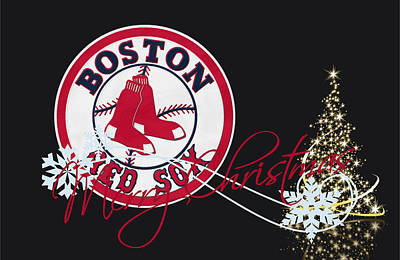 Diamonds Photograph - Boston Red Sox by Joe Hamilton