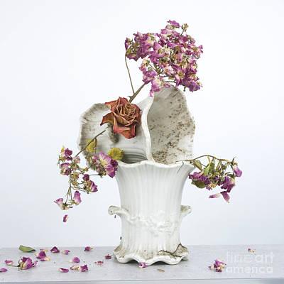 Aging Photograph - Bouquet by Bernard Jaubert
