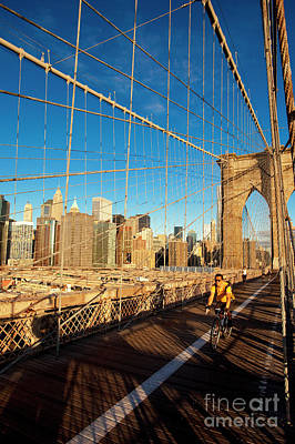Photograph - Brooklyn Bridge by Brian Jannsen