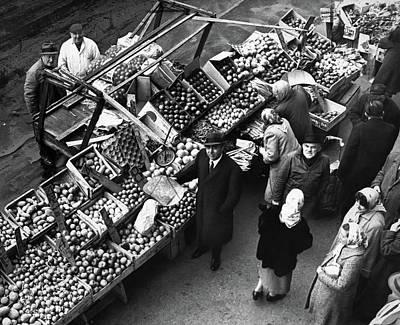 Brooklyn Market, 1962 Art Print