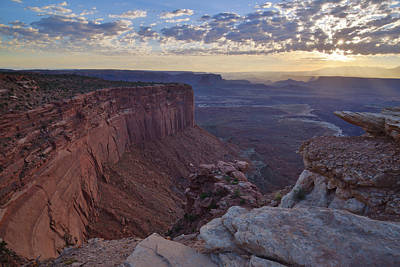 Photograph - Buck Canyon Overlook by Ray Mathis