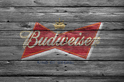 Photograph - Budweiser by Joe Hamilton
