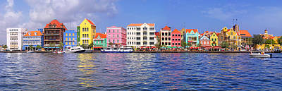Vibrant Color Photograph - Buildings At The Waterfront by Panoramic Images