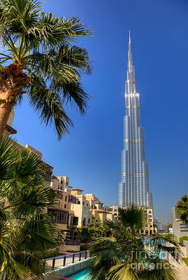 Photograph - Burj Khalifa Dubai by Fototrav Print