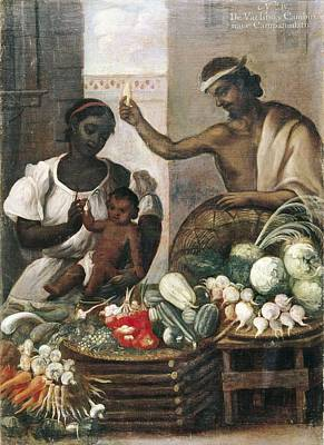 Food Y Photograph - Cabrera, Miguel 1695-1768. Castes. From by Everett