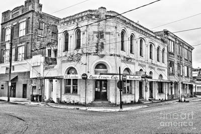 Cajun Corner Cafe Art Print by Scott Pellegrin