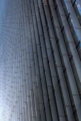 Photograph - Canary Wharf Abstract by David Pyatt