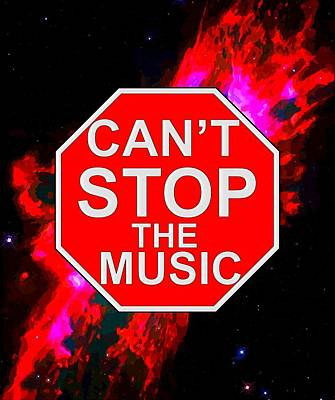 Can't Stop The Music Art Print by Andrew Hunt