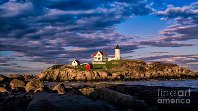 Photograph - Cape Neddick Light. by New England Photography