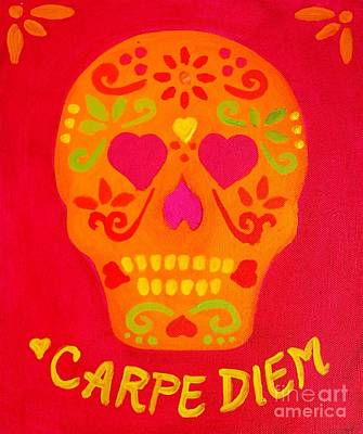 Painting - Carpe Diem Series by Janet McDonald