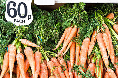 Agricultural Industry Wall Art - Photograph - Carrots by Tom Gowanlock