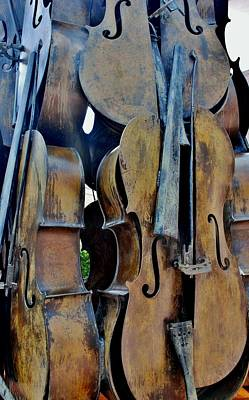 4 Cellos Art Print