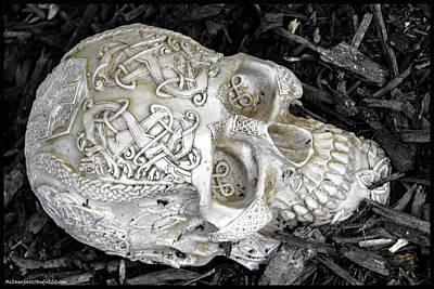 North America Photograph - Celtic Skulls Symbolic Pathway To The Other World by LeeAnn McLaneGoetz McLaneGoetzStudioLLCcom
