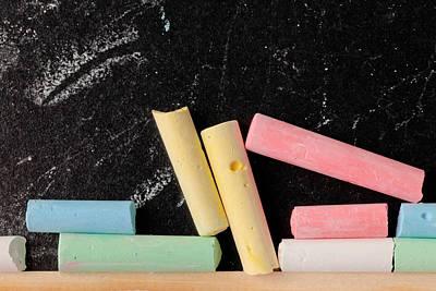 Basic Photograph - Chalk Pieces by Tom Gowanlock