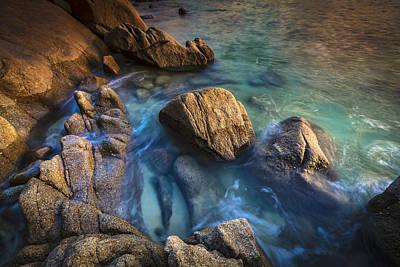 Print featuring the photograph Chanteiro Beach Galicia Spain by Pablo Avanzini