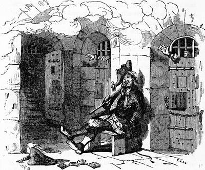 World Heritage Drawing - Charles Dickens Barnaby Rudge 1841 Illustration 19th Century by English School
