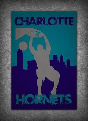 Charlotte Hornets Art Print by Joe Hamilton