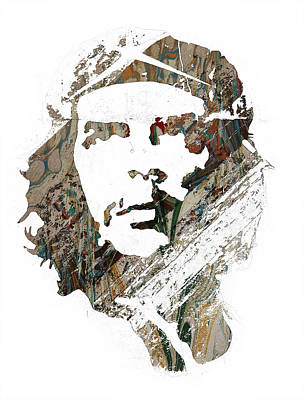 People Mixed Media - Che Guevara by Celestial Images