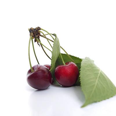 Healthy Eating Photograph - Cherries by Bernard Jaubert