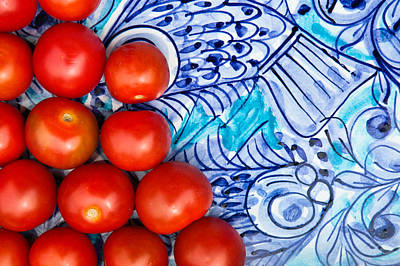 Photograph - Cherry Tomatoes by Tom Gowanlock