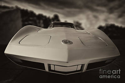 Corvette Photograph - Chevrolet Corvette by George Atsametakis
