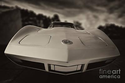 Outdoors Photograph - Chevrolet Corvette by George Atsametakis