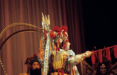 Photograph - China Opera, 1979 by Granger