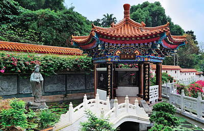 Photograph - Chinese Temple by Songquan Deng