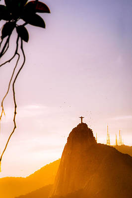 Photograph - Christ The Redeemer by Celso Diniz