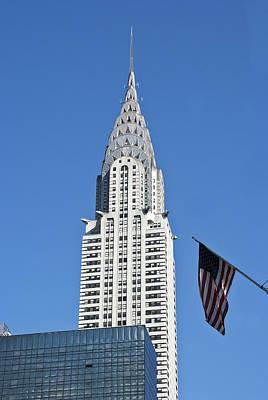 Photograph - Chrysler Building by Michael Dorn