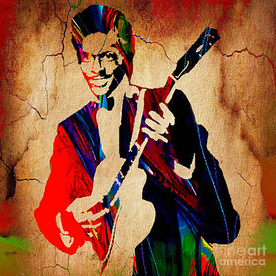 Chuck Berry Collection Art Print