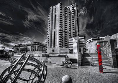 Photograph - Cityscape by Wayne Sherriff