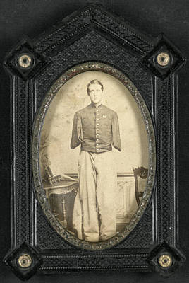 Photograph - Civil War Wounded by Granger