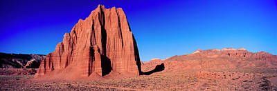Capitol Reef National Photograph - Cliff In Capitol Reef National Park by Panoramic Images