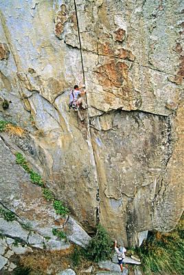 Katharine Hepburn - Climb by Elijah Weber