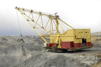 Coal Strip Mining Art Print by RIA Novosti